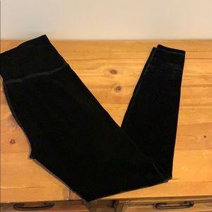 Black Velvet leggings medium by Beyond Yoga